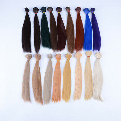 25cm*100cm High-temperature Wire DIY Straight Hair Wig for 1/3 1/4 1/6 BJD BLBD