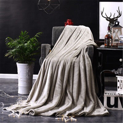 Kids Rabbits Knitting Blanket Bedding Quilt Play Blanket Cute GY