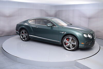2016 Bentley Continental GT Speed in Spruce with 9,950 miles 2016 BENTLEY CONTINENTAL GT SPEED IN SPRUCE WITH LINEN LOW MILES