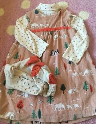 Girls Boden Christmas Outfit Age 2-3