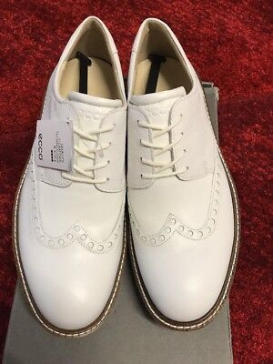 02caf7e71a6bf8 Golf Lux Source · ECCO MENS CLASSIC Lux Leather Spiked Brogue Golf Shoes  187 00