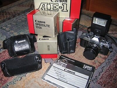 Canon Ae-1 & Accessories