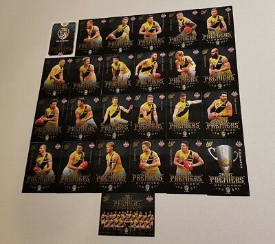 Richmond Tigers 2017 Afl Select Premiers Premiership 25 Card Set Martin Cotchin