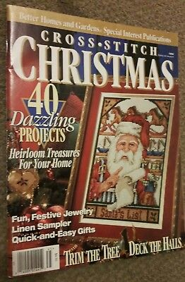 Cross stitch Christmas magazine from Canada 1994