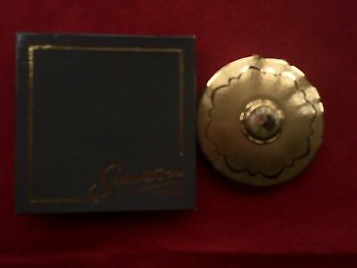 Vintage Stratton Powder Compact In Box