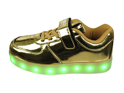 FREE SHIP! LED Light Up Shoes Baby Girl USB Lot 12Prs $10.99/Pr-ABL001IG