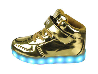 FREE SHIP! LED Light Up Shoes Baby Girl USB Lot 12Prs $10.99/Pr-ABL003IG