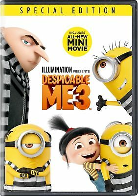 Despicable Me 3 (DVD 2017)NEW*Family, Animation* Now Shipping****