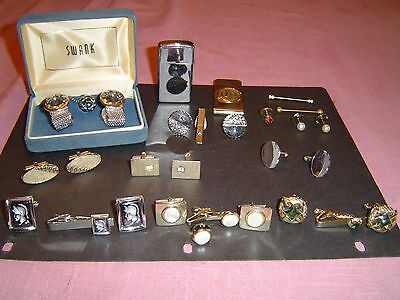 large lot of old cuff links plus bonus best deal on e-bay for what you get