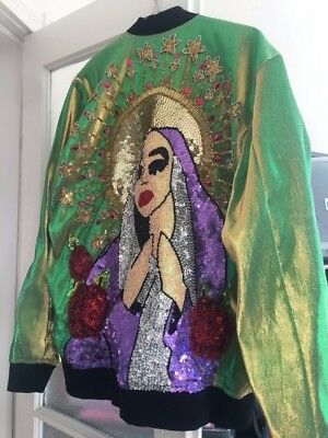DI$COUNT UNIVERSE Blood and Tears Metallic and Sequin Jacket - RARE