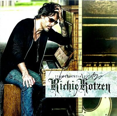 RICHIE KOTZEN THE ESSENTIAL LIMITED EDITION 2CD's+DVD HAND SIGNED AUTOGRAPHED