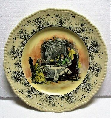 """Royal Doulton Sir Roger De Coverly """"how The Jack Was Caught"""" 10 Plate"""