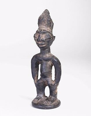 Genuine Single Antique Yoruba Ibeji Figure Ede