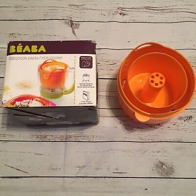 Beaba Babycook Accessory Pasta Rice Cooker  Orange