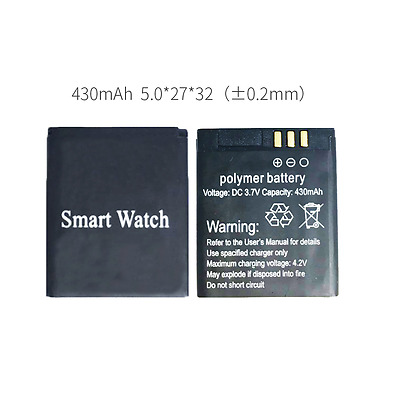 Z50 battery smart watch phone 430mAh Z50 battery long time standby battery