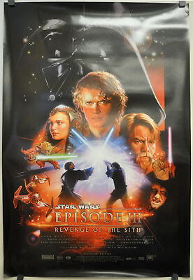 Star Wars Episode Iii Revenge Of The Sith 27X40 Orig Double Sided Movie Poster