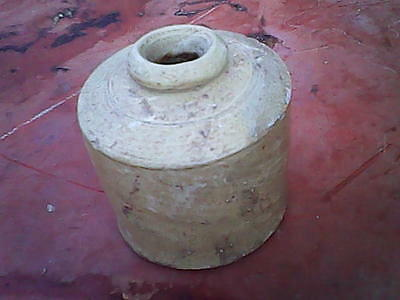 Ink wells clay vintage. free shipping.