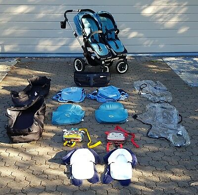 Bugaboo Donkey Duo - with many original extras!