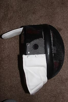 New, Jiang medium size epee fencing mask from Sheffield Fencing Supplies