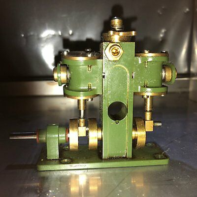 Stuart Turner Live Steam Engine Puffin with lubricator as built by Stuart