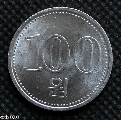 Korea 100 Won 2005,  km427 UNC Coin
