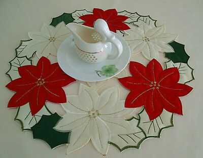 New Hot Quality doily/tablecloth, Christmas pattern, round, 40 cm