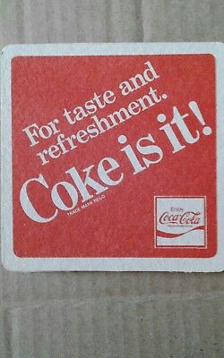 coke collectables - Coasters.