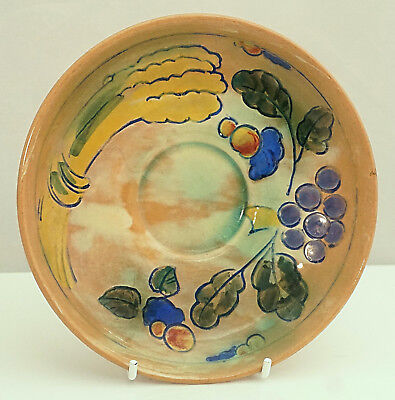 FRANK BRANGWYN Royal DOULTON Floral decorated Hand Painted Saucer ART DECO