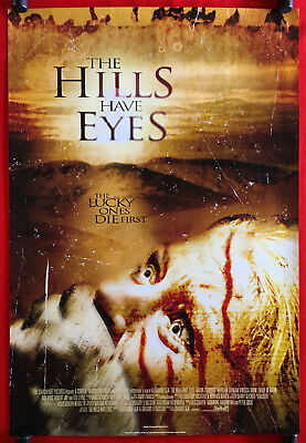 THE HILLS HAVE EYES - Original 2006 Rolled One Sheet Movie Poster - Wes Craven