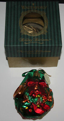 Weihnachtkugel Waterford Kugel Holiday Heirlooms Nostalgic Collection