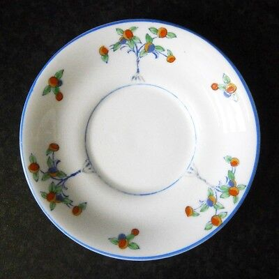 Vintage Allertons Devonia Old English China Hand-Painted Art Deco Saucer