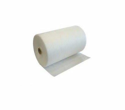 1 Roll Of White 1.5mm JIFFY FOAM WRAP - SIZE 500mm x 100m