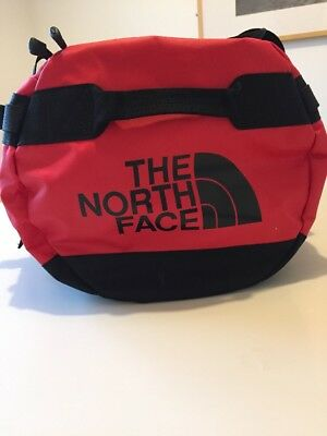North Face Duffle Bag Small In Red