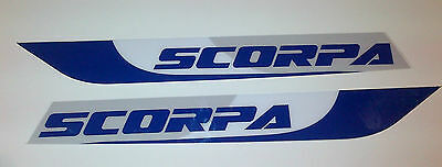Scorpa Sy, Ty  Swinging Arm Decals  Moto-X quality thick decals