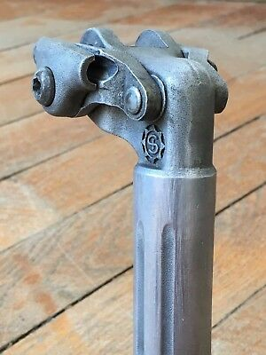 Tige de selle SIMPLEX 1970 /80 Seatpost 26.6 mm Vélo Ancien Old Bike Peugeot