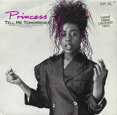"Princess - Tell Me Tomorrow - Coloured Vinyl - 7"" Single"