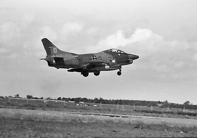 original aircraft negative 13169 German Fiat G-91R 33+15 LeKG-42 rare