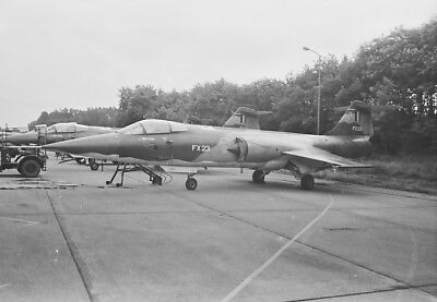 original aircraft negative 75329 Belgium Starfighter F-104G FX-23 1 Wing