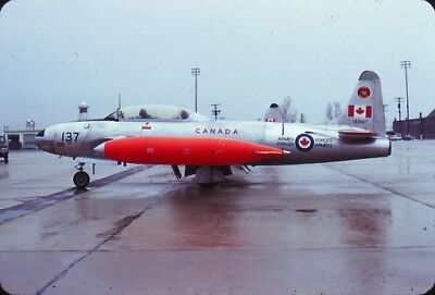 aircraft slide 17704 Canada CT-133 133137 410 Squadron