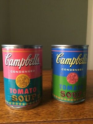 Campbell's Soup Andy Warhol's Limited Edition Pop Art Series Discontinued Rare