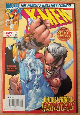 X-Men Vol 2 #67 (1997) Operation Zero Tolerance VF Thibert Lobdell Combined P&P