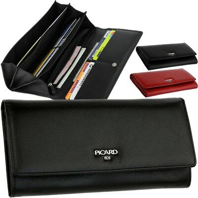 Picard Women's Wallet Classic Leather Smooth Wallet Purse Wallet