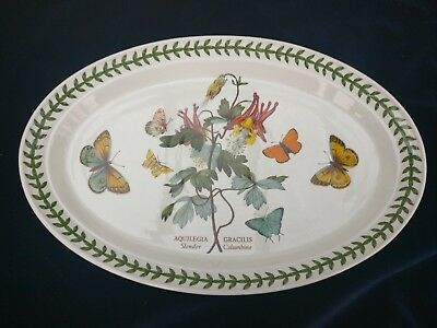 portmerion botanic garden serving plate