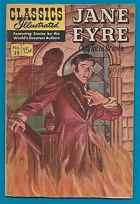 Classics Illustrated Comic 1965 Jane Eyre by Charlotte Bronte  #865