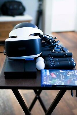 Sony PlayStation VR Headset Bundle with 2 Move Controllers and Camera