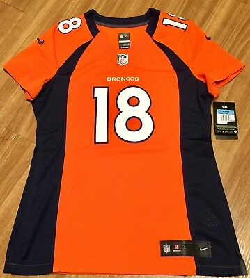 New Nike Womens Authentic On Field Peyton Manning Denver Broncos Jersey  Medium M d5d480419