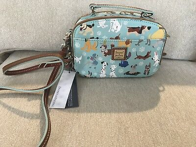 Sold out 2017 Dooney & Bourke Disney Dogs ambler Crossbody bag purse  NR