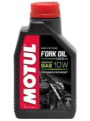 Motul Fork Oil Gabelöl Expert Medium 10W 1L Dämpfungsöl Superbike Supersport MX