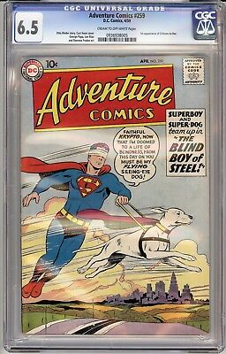 Adventure Comics #259 (Apr 1959, DC) CGC 6.5 1st appearance of Crimson Archer