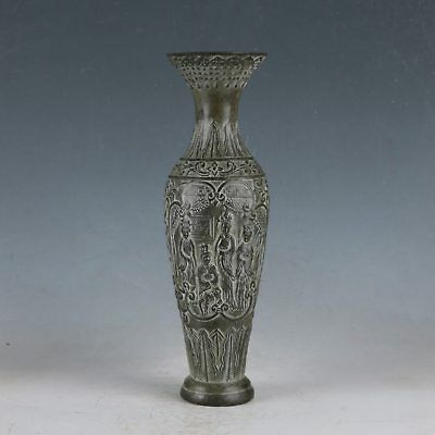 Chinese Bronze The Four Ancient Beauties Vase Made By The Royal Qianlong HST0031